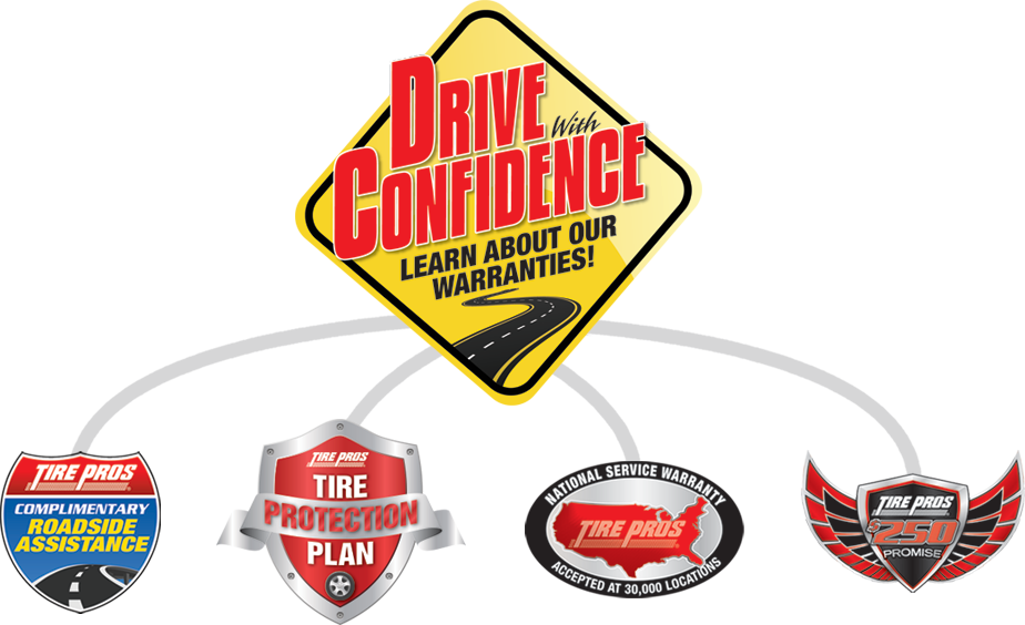 Tire Pros Drive With Confidence Guarantee